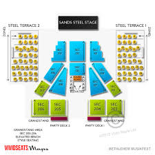 Valley View Seating Chart Complete Valley Forge Casino Seating Chart Valley Forge