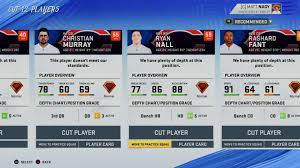 How To Move Up The Depth Chart In Madden 13 I Actually Like Playing The Preseason In Madden Mega Bears Fan
