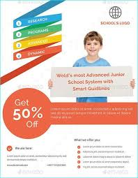 education poster templates 20 professional educational psd school flyer templates