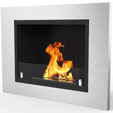 venice 32 inch ventless built in recessed bio ethanol wall mounted fireplace review