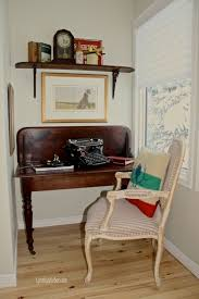 repurposed office furniture. upcycled drop leaf table becomes a custom desk for cozy office nook home decor painted furniture repurposing upcycling one of this became repurposed n