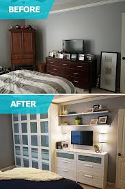 furniture for small bedrooms spaces. Matt And Adri Lacked Storage Space In Their Bedroom! Desperately Needed A Large To Store His Clothing, Shoes Hats \u2013 So The IKEA Home Tour Furniture For Small Bedrooms Spaces R