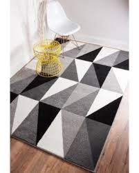 marvelous black white and grey rug cievi home