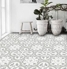 stick on tiles kitchen floor stick tiles ideas on trafficmaster light grey in x travertine l