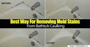 removing caulking from bathtub best way for removing mold stains from bathtub caulking home remove latex