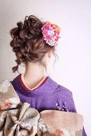 ショートカットボブ向け着物に似合う簡単髪型短くても可愛く変身