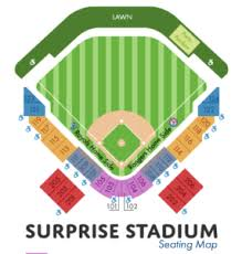 Texas Rangers Stadium Chart Kansas City Royals Vs Texas Rangers Tour Surprise Az
