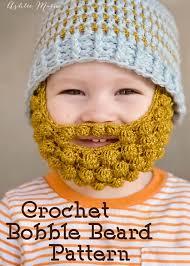 Beard Hat Crochet Pattern Impressive Crochet Bobble Beard Pattern Multiple Sizes Ashlee Marie Real