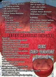 Kek Red Velvet Versi Kukus Mufin Cupcake Cakecooking Fanpage