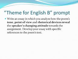 helping you write a better response to an ap prompt ppt  theme for english b prompt