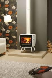 Dovre Vintage 35 woodburning stove with legs - White Enamel
