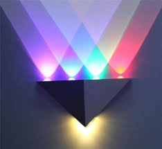 led wall lamps indoor wall light 3w 4w 5w 6w 8w wall lamps colorful stage lights ktv decorative wall light red green blue purple led lamp