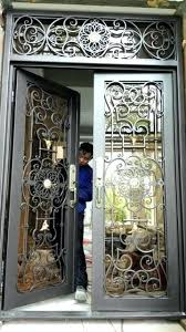 front door gate. Rod Iron Front Door Custom X Doors Wrought Entry . Gate R