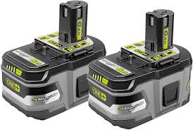 Ryobi Battery Comparison Chart Ryobi 18v 6 0ah Cordless Power Tool Batteries Are Now At