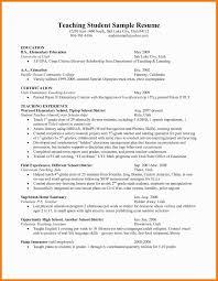 Elementary Teacher Cover Letter Beautiful Resume For Teachers Aide