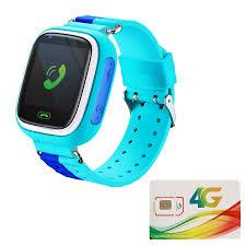 Đồng Hồ Điện Thoại Trẻ Em KF80 - Tặng Sim 4G Viettel 60GB Data Tốc Độ Cao - Đồng  hồ thông minh Thương hiệu OEM
