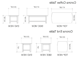 standard table dimensions standard table sizes coffee table standard dimensions medium size of side table dimensions