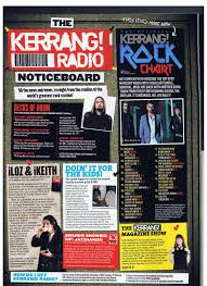 Kerrang Official Rock Chart Green Day In This Weeks Kerrang And Nme Green Day Chat