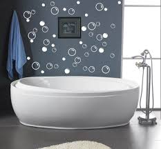 50 large soap bubbles wall decals