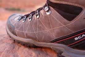 scarpa hiking boots leather suede leather is durable and reasonably light