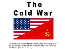 Cold War Ppt World History With Miss Bunnell