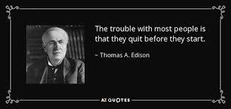 40 QUOTES BY THOMAS A EDISON [PAGE 40] AZ Quotes New Thomas Edison Quotes