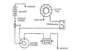 electrical circuits and devices automobile typical circuit of automotive air conditioning