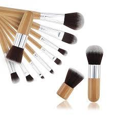 11 pcs high quality professional cosmetic makeup brush set