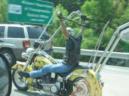 How High Can Ape Hangers Be In California Riderz Law