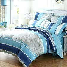 blue striped bedding blue striped bedding comforter sets queen size unique casual 1 navy crib blue striped bedding