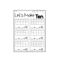 printable ten frame templates free template lab literals python