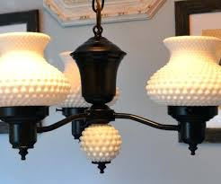 antique milk glass chandelier home design ideas vintage