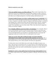 Receptionist Cover Letter For Resume Medical Receptionist Cover Letter Extraordinary Medical Receptionist 18