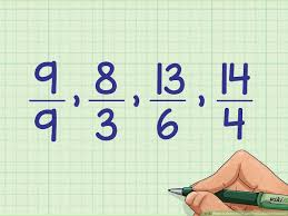 Fractions Chart Smallest To Largest 3 Ways To Order Fractions From Least To Greatest Wikihow