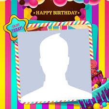 free happy birthday photo frames