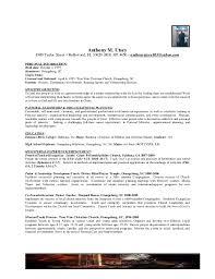Pastoral Resume Techtrontechnologies Com
