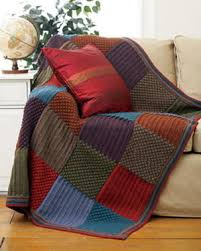 Knitted Afghan Patterns Classy FaveCrafts 48s Of Free Craft Projects Patterns And More