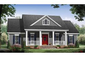 Eplans Country House Plan   Small Country Home   Large Porches    Front