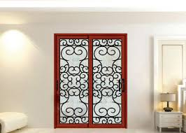 wrought iron security doors glass agon filled 22 64 inch size shaped wrought iron exterior doors