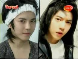 hana on twitter ulzzang park tae jun without makeup makeup not really diffe right still handsome that s why i love him 3