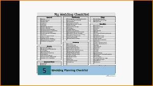 9 Wedding Planning Checklist Pdf Letter Template Word