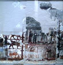the 18th century bc fresco of the investiture of zimrilim discovered at the royal palace of ancient mari in syria