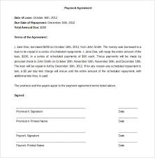 payment plan agreement template word free payment agreement template payment plan agreement template free