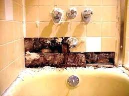 replacement shower pan remove shower pan how replacing shower tray drain remove shower wall panels replacing