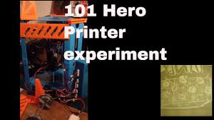 chinese 101 hero review improvement upgrades does it work is it the best 3d printer