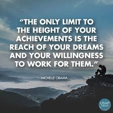Quotes For Dreams And Success Best of The Only Limit To The Height Of Your Achievements Is The Reach Of