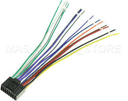 wire harness for jvc kd rbt kdrbt pay today ships today wire harness for jvc kd ahd69 kdahd69 pay today ships today