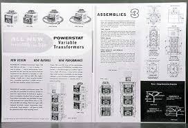 technipower general radio variac staco powerstat variable Powerstat Variable Models at Powerstat Variable Autotransformer Wiring Diagram