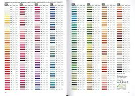 Iris Floss Color Chart Dmc Embroidery Floss Conversion Chart Dmc Floss Color Chart