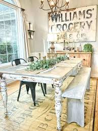 40 DIY Farmhouse Table Plans U0026 Ideas For Your Dining Room FreeCountry Style Table And Chairs